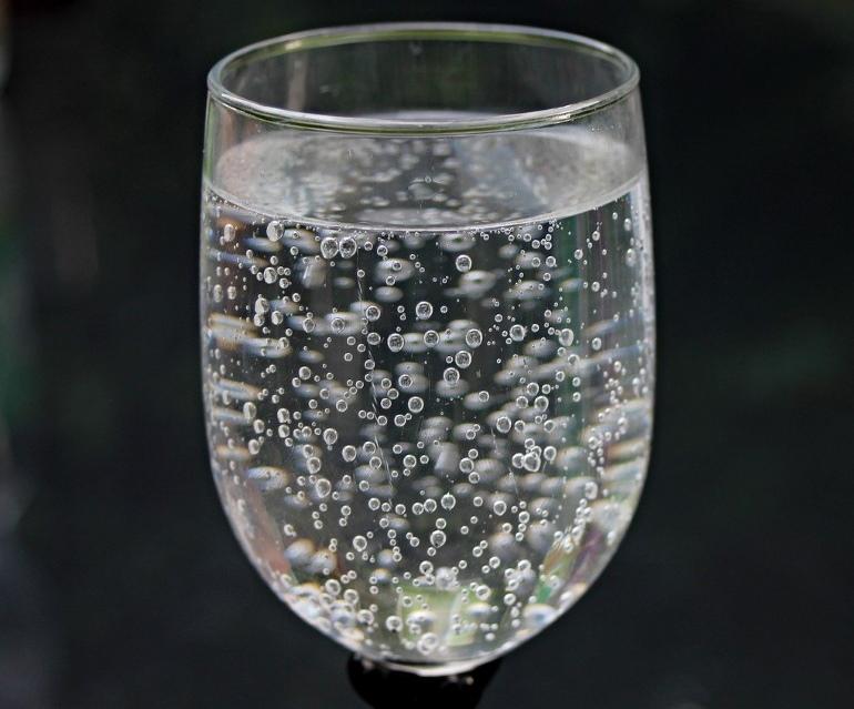 炭酸水の完成