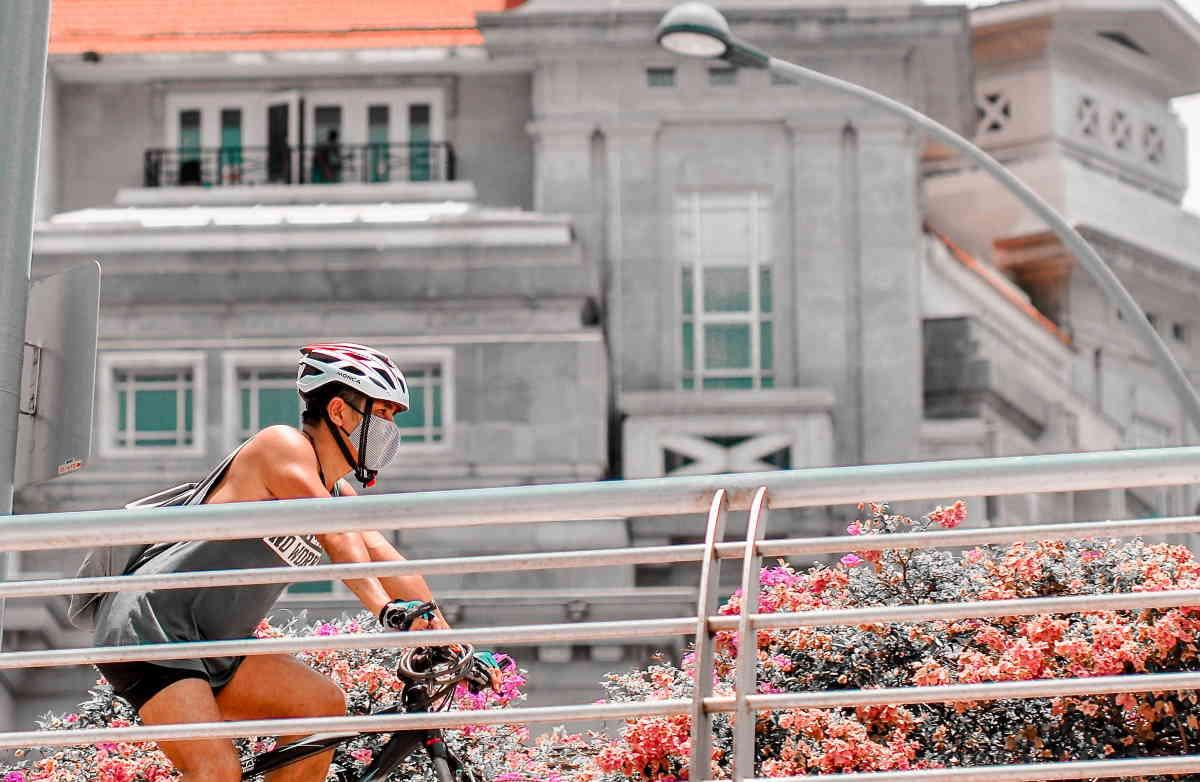 サイクリングマスク