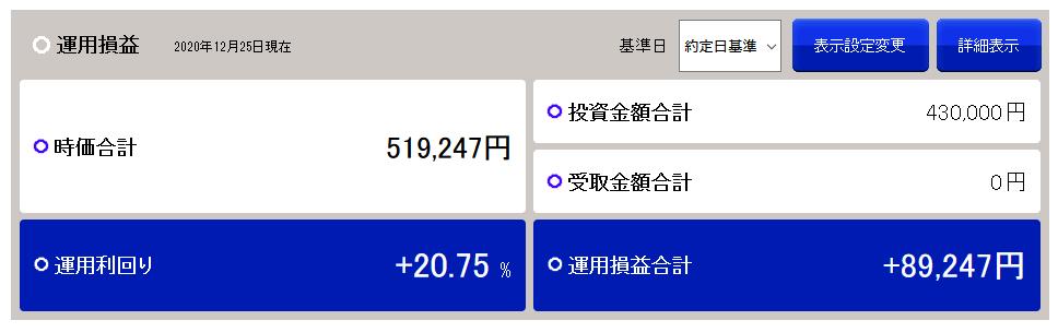 20201228積立nisa