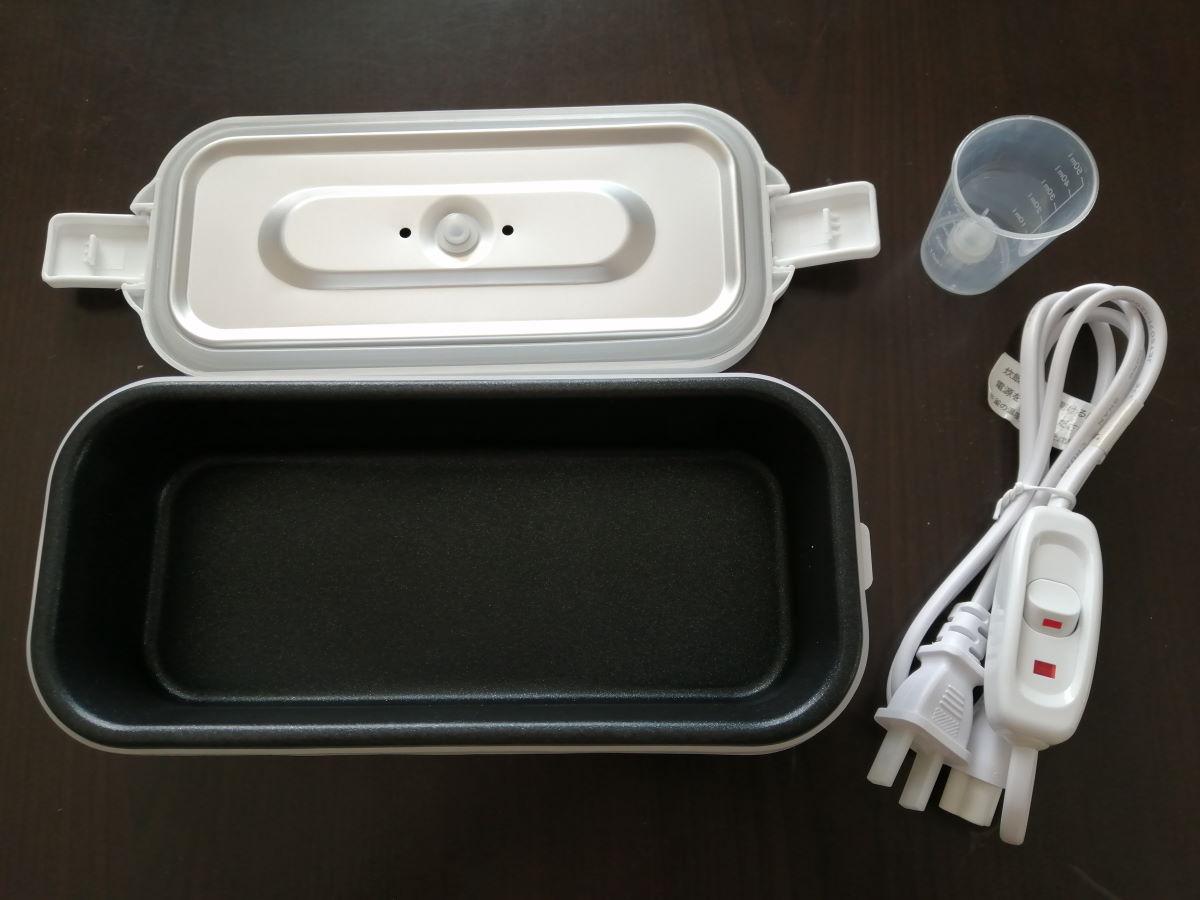 弁当箱炊飯器の内容